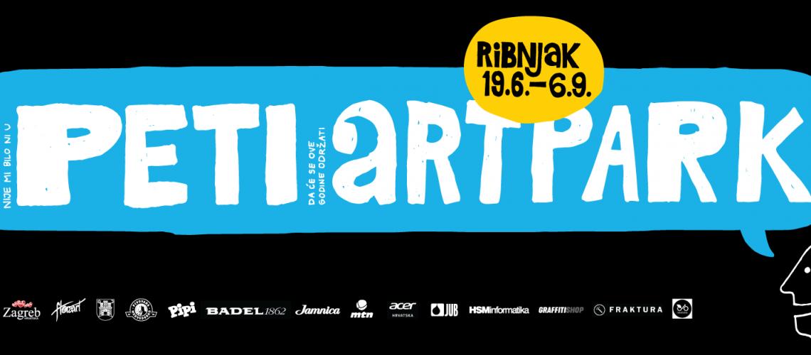 Art park banner